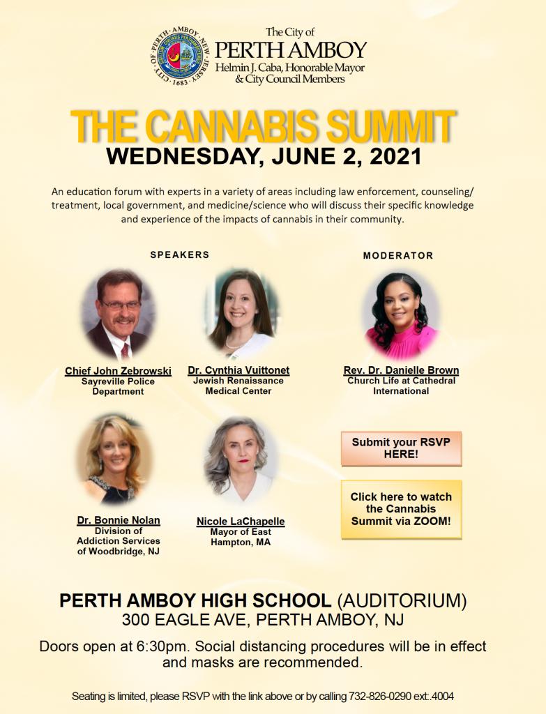 Perth Amboy Marijuana Summit